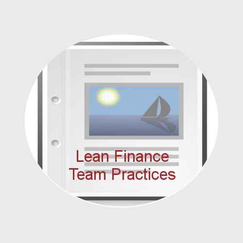Lean 21st Century Finance Team Practices (whitepapers and eTemplates)